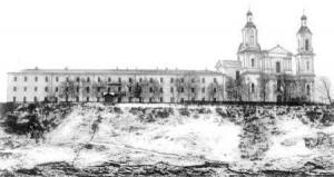 Историческое здание семинарии конца XIX в.