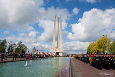 В Витебской епархии почтили память воинов, погибших в годы Великой Отечественной войны