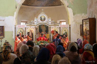 Фоторепортаж торжественных мероприятий по случаю престольного праздника храма св. великомученицы Ирины в Представительстве Белорусского Экзархата в г. Москве