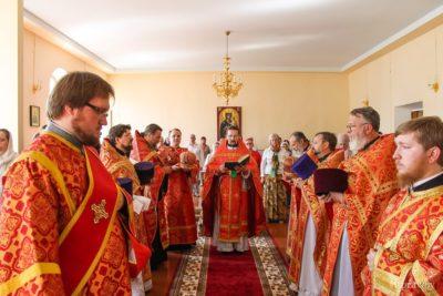 В Витебской духовной семинарии состоялись торжества по случаю празднования престольного праздника