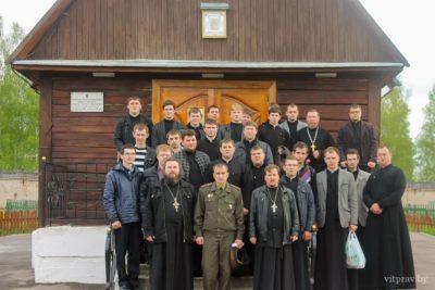 Cтуденты Витебской духовной семинарии посетили «Исправительную колонию № 3»