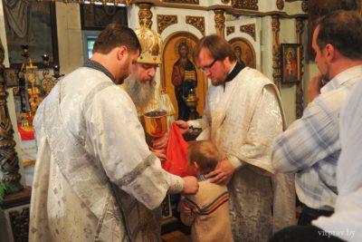 В праздник Вознесения Господня архиепископ Димитрий совершил Божественную литургию в Вознесенском храме г. Лиозно