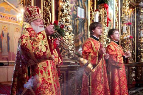Архиепископ Димитрий принял участие в торжественных мероприятиях, посвященных 75-летию со дня рождения митрополита Псковского и Великолукского Евсевия