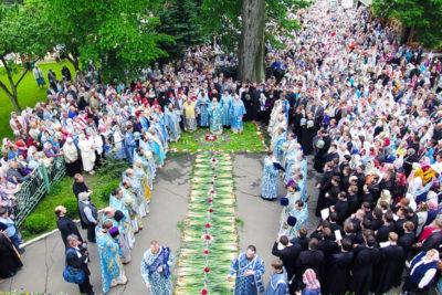 Торжества по случаю дня памяти Жировичской иконы Божией Матери прошли в Свято-Успенском мужском монастыре