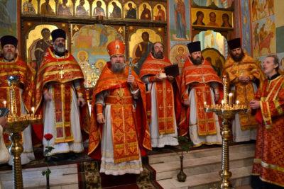 В храме святого великомученика Георгия Победоносца г. Витебска прошли торжества по случаю престольного праздника
