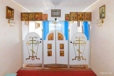Храм Жировицкой иконы Божией Матери г. Витебска (домовой храм)