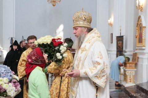Фоторепортаж в день 25-летия архиерейской хиротонии архиепископа Витебского и Оршанского Димитрия
