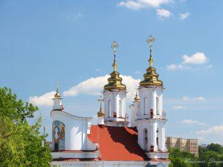 Храм Воскресения Христова г. Витебска (верхний храм)