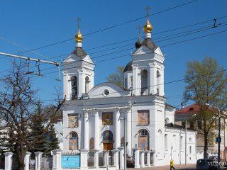 Свято-Покровский кафедральный городской собор г. Витебска