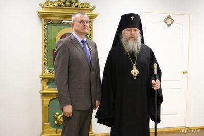 Министр внутренних Республики Беларусь награждён орденом святителя Кирилла Туровского