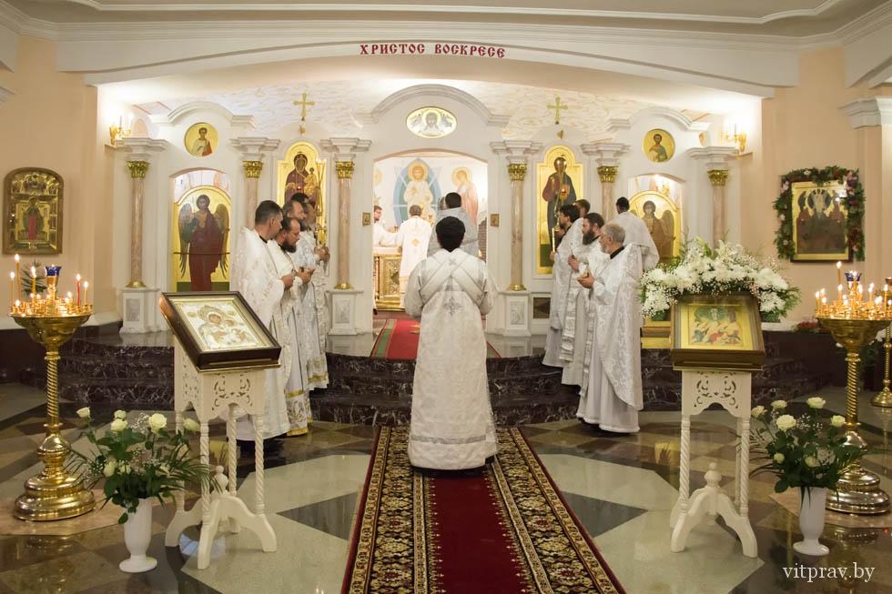 Храм Преображения Господня г. Витебска (нижний храм кафедрального собора) –  Витебская епархия