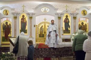 В храме Преображения Господня прошли торжества по случаю престольного праздника. Фоторепортаж