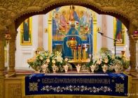 В канун праздника Успения Пресвятой Богородицы в Свято-Успенском кафедральном соборе Витебска состоялось торжественное Богослужение