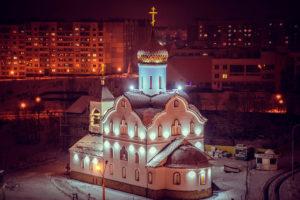 Храм святой блаженной Матроны Московской г. Витебска