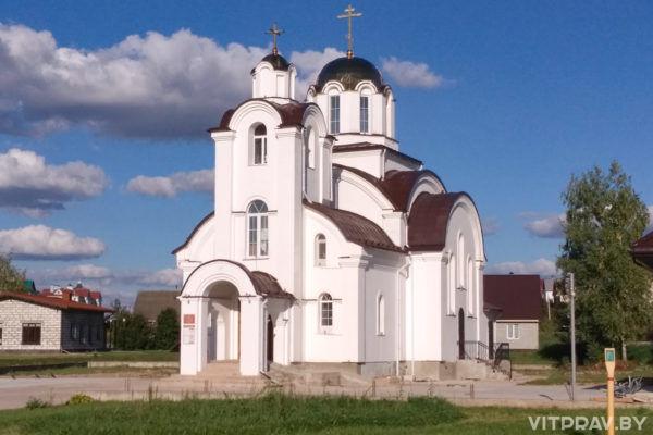 Храм святого мученика Меркурия Смоленского пос. Тарный