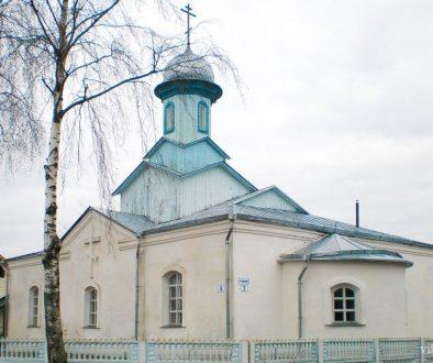 Храм Святой Живоначальной Троицы г. п. Яновичи Витебского района