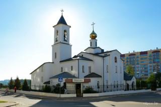 Пасхальная полунощница начнётся 27 апреля в 23:00. Пасхальная утреня и Божественная литургия — 28 апреля в 00:00. Божественная литургия — 28 апреля в 9:00. Адрес: г. Витебск, пр-кт Черняховского, 28/13.