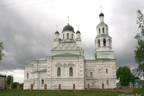 Храм Святой Живоначальной Троицы аг. Улла Бешенковичского района