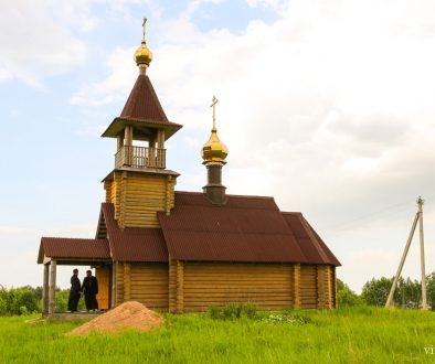 Храм святителя Спиридона Тримифунтского Чудотворца д. Заречье Городокского района