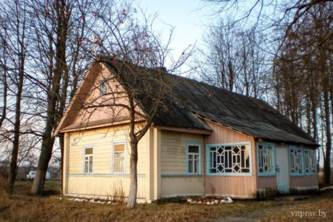 Храм святого пророка Илии д. Заполье Витебского района