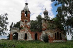 Храм святого благоверного князя Александра Невского д. Мартыново Бешенковичского района