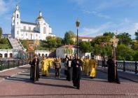 В Витебске отметили 290-летие перенесения мощей святого благоверного князя Александра Невского