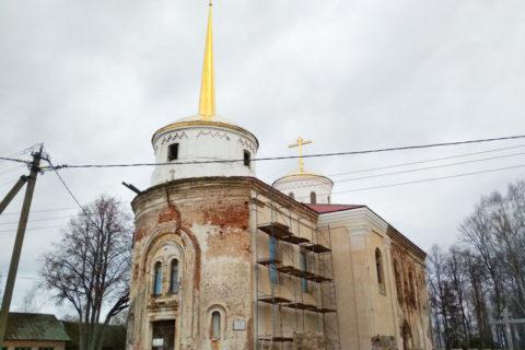 Храм святой Живоначальной Троицы аг. Островно Бешенковичского района
