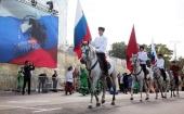 При поддержке Синодального комитета по взаимодействию с казачеством в столице прошел фестиваль «Казачья станица — Москва»