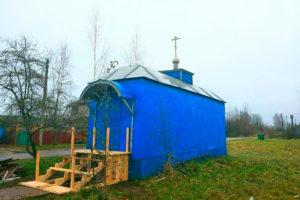 Храм Святой Живоначальной Троицы д. Верховье Бешенковичского района
