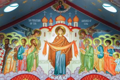 В храмах Витебской епархии были отслужены Божественные литургии в честь праздника Покрова Божией Матери