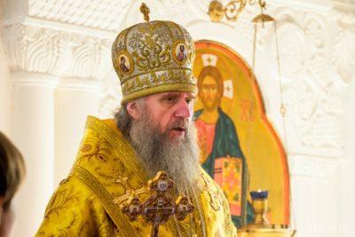 В день памяти праведного Филарета Милостивого архиепископ Димитрий совершил Литургию в Свято-Покровском соборе города Витебска