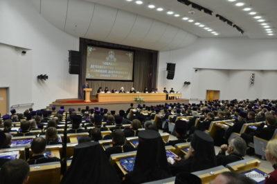 В конференц-зале Национальной библиотеки Беларуси состоялось Общее собрание епархий Минской митрополии Белорусской Православной Церкви.