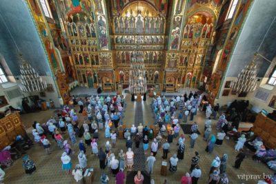 Группа паломников Витебской епархии посетила Свято-Введенский женский монастырь г. Иваново.