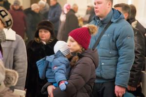 Молебен в день Рождества Христова в кафедральном соборе города Витебска . Фоторепортаж