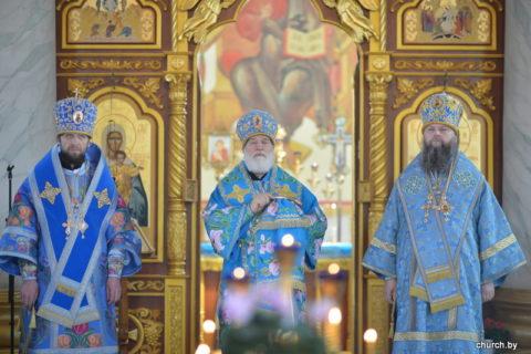 Патриарший Экзарх официально представил лидской пастве епископа Лидского и Сморгонского Порфирия