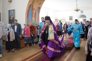 В Витебске прошли торжества по случаю престольного праздника храма Казанской иконы Божией Матери Свято-Троицкого Маркова монастыря