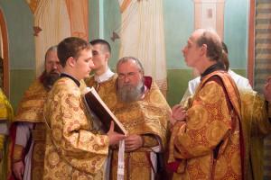 Божественная литургия по случаю 20-летия основания храма святого великомученика Георгия Победоносца города Витебска