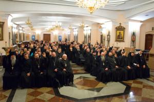 Участники ежегодного очетного епархиального собрания выступили за разукрупнение Витебской епархии