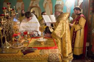 Божественная литургия по случаю 20-летия основания храма святого великомученика Георгия Победоносца горда Витебска