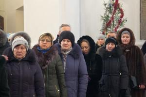 Соборный молебен в день Рождества Христова в Свято-Успенском кафедральном соборе Витебска. Фоторепортаж