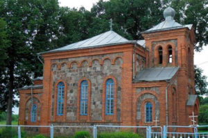 Храм святого преподобного Сергия Радонежского д. Лесковичи Шумилинского района