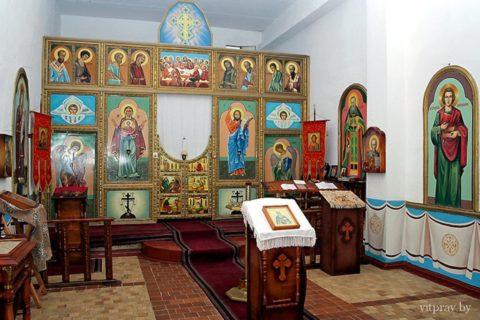 Храм святого праведного Иоанна Кронштадтского в ИК-12 г. Орши (домовой храм)