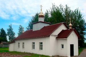 Храм святителя Никиты, епископа Новгородского, д. Никитиха Шумилинского района