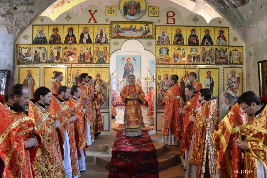 Престольные торжества в храме великомученицы Ирины в Москве впервые прошли Ирининском пределе