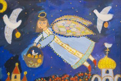В культурно-историческом комплексе «Золотое кольцо города Витебска «Двина» состоялось закрытие выставки детского творчества «Божий мир глазами детей»