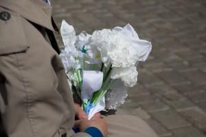 "Фоторепортаж с акции ""Белый цветок"""