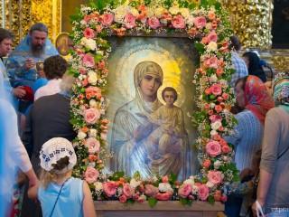 XIV Международный православный молодёжный фестиваль «Одигитрия» завершился прибытием крестного хода из Витебска в Смоленск