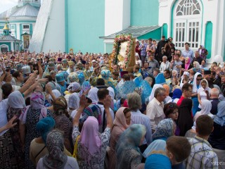 Архиепископ Димитрий принял участие в торжествах в честь Смоленской иконы Божией Матери «Одигитрия»