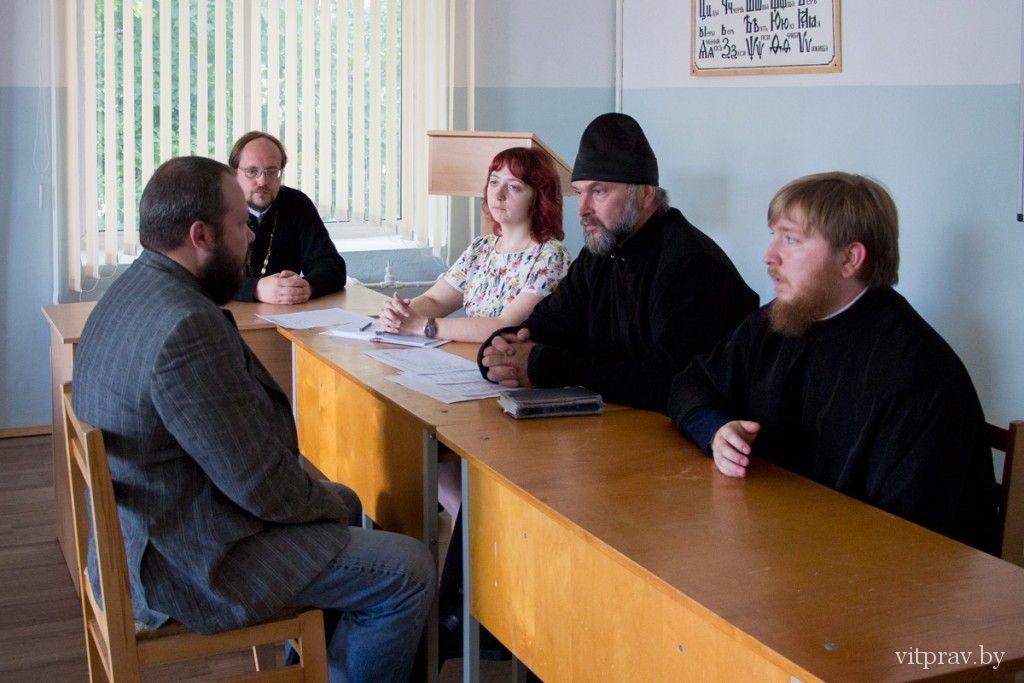 Витебская духовная семинария осуществила набор студентов на первый курс