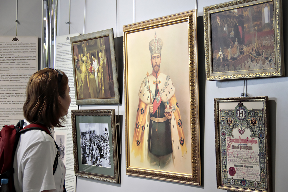 С 7 сентября в Витебском художественном музее будет экспонироваться выставка «Венценосная Семья. Путь Любви»